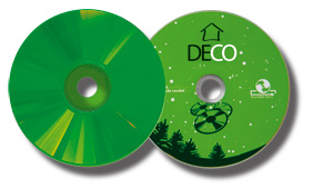 Los color disc son discos personalizables a todo color.